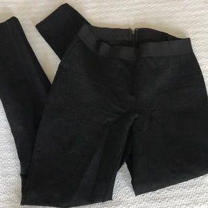 Dark gray Pixie / pointe pant from J. Crew